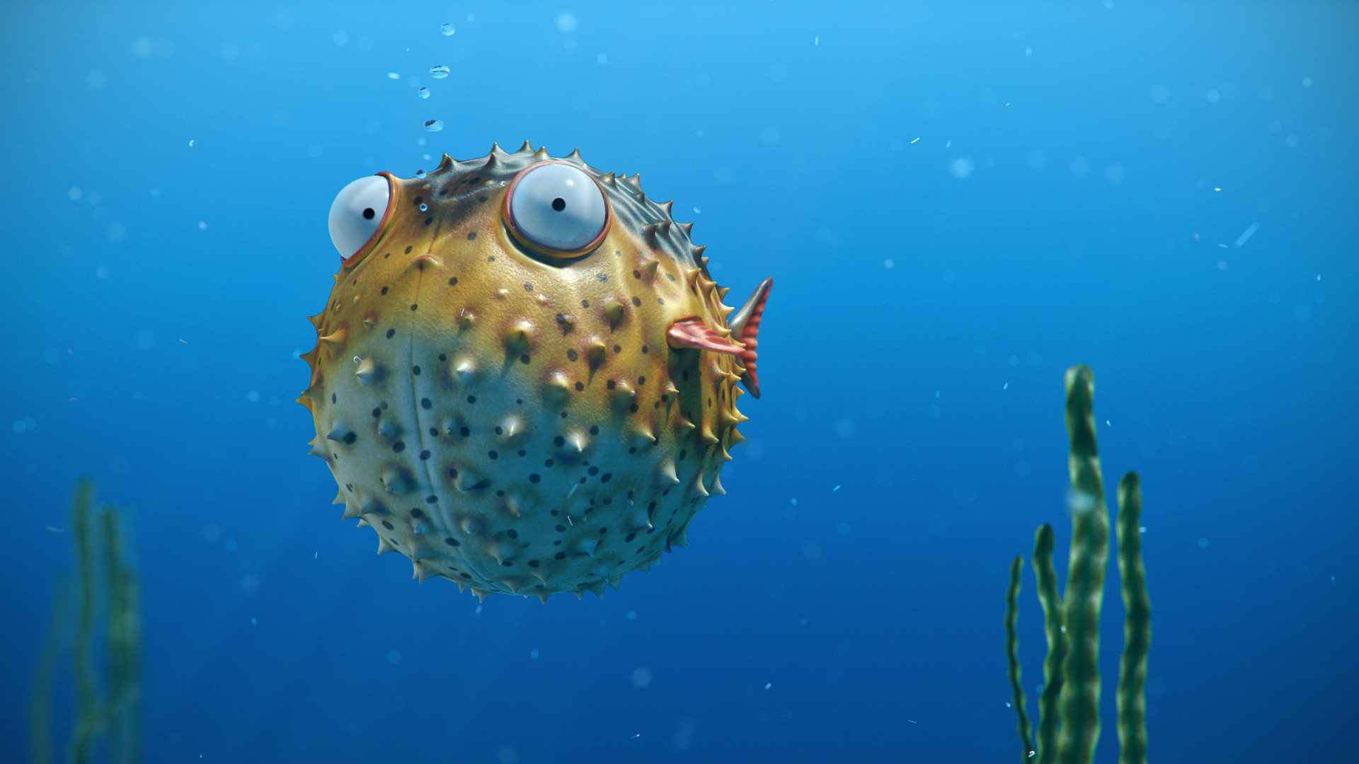 Putterfish web