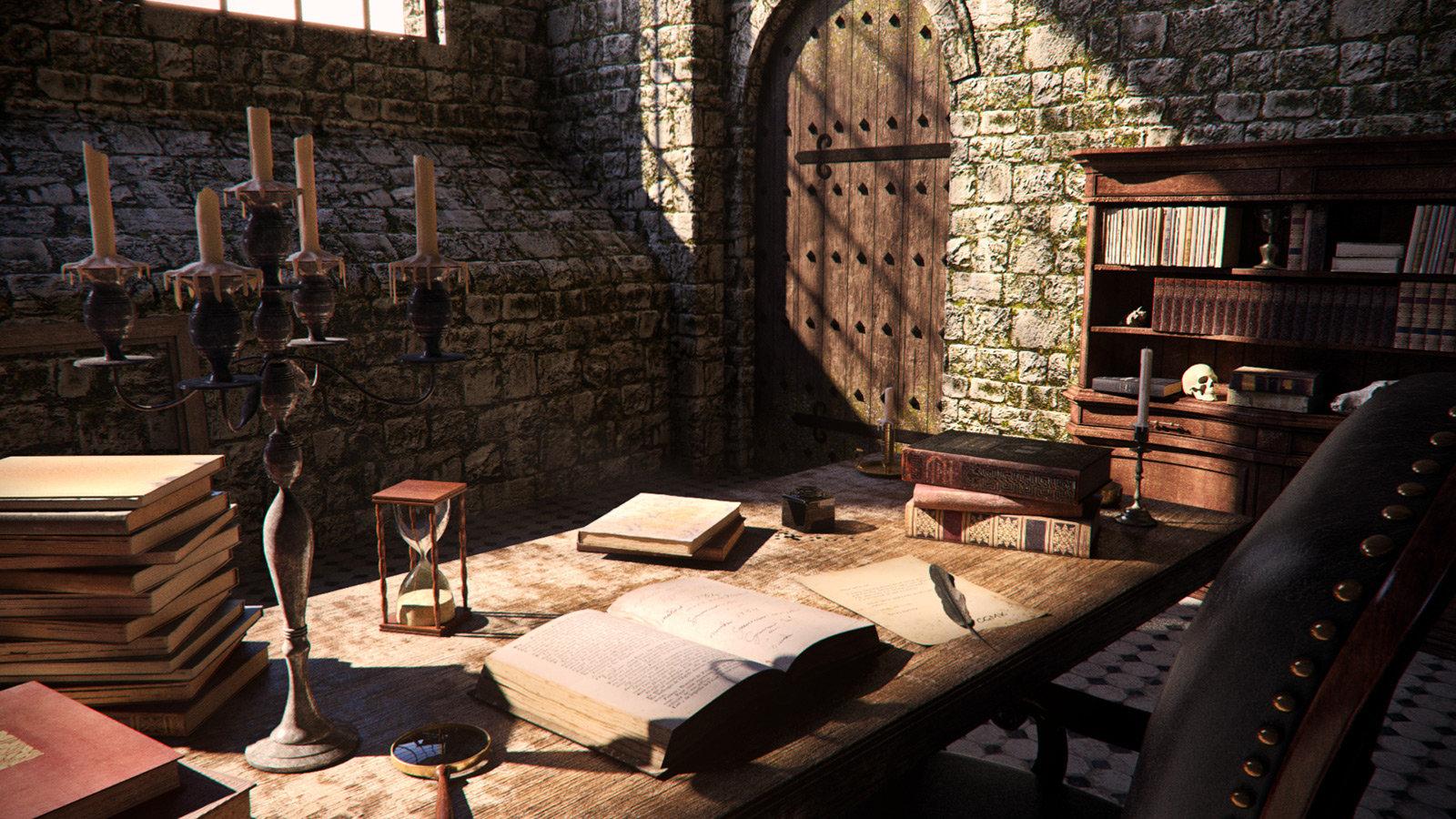 Medieval interior day 11 pn pp