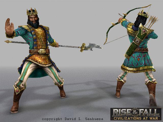 Rise and fall nebuchad