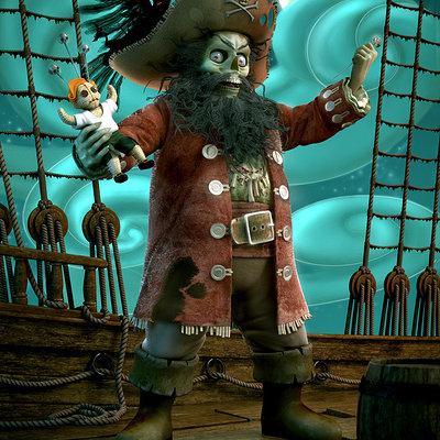 Pirate zombie arizaga portfolio