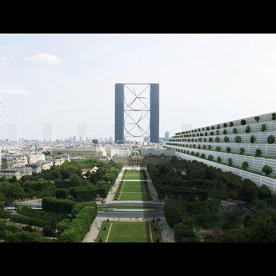Parisian mass housing