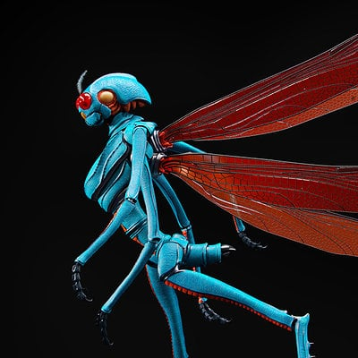 David ferreira damselfly alien black pn ppcrop1400