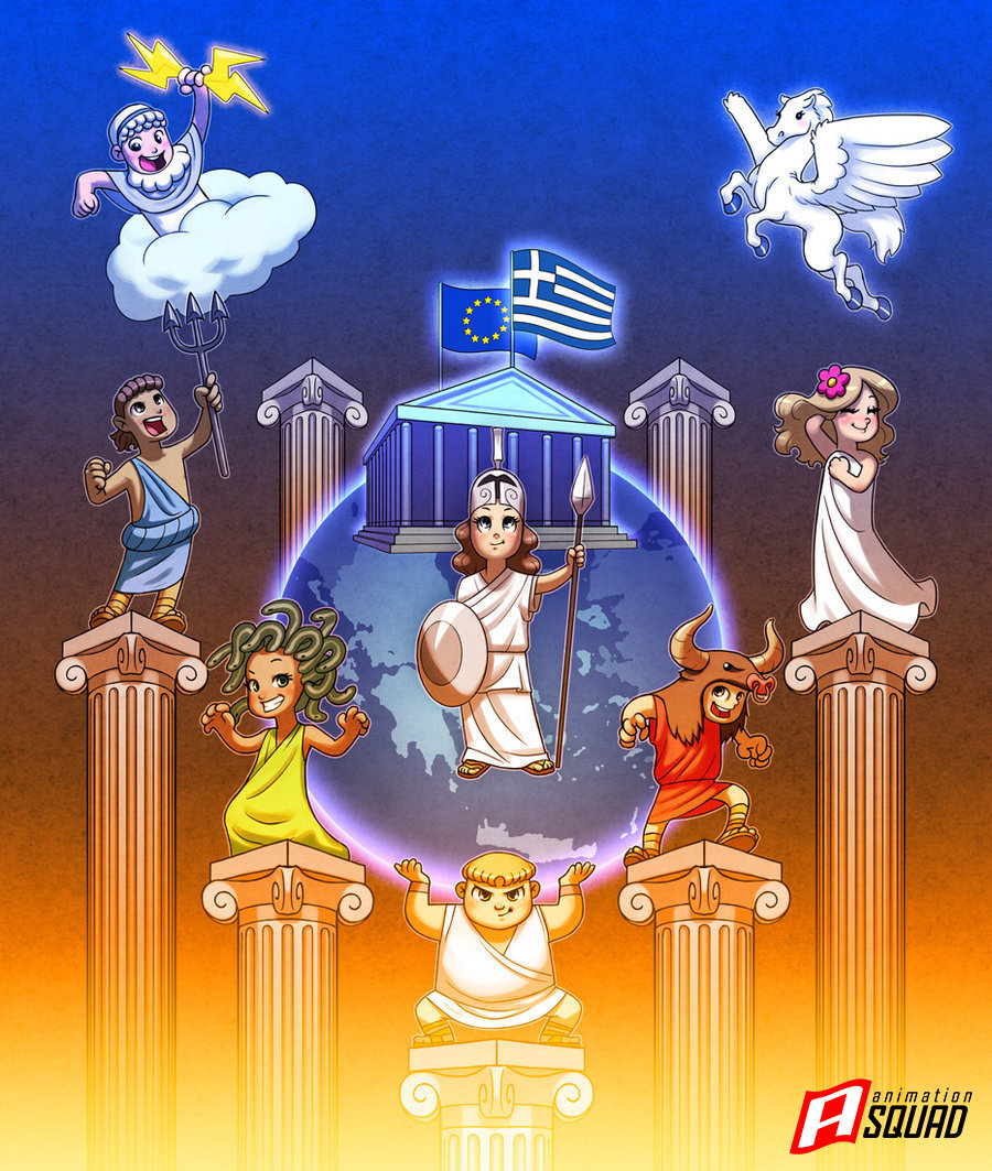 Sylvain magne greek mythology by sykosan d50ghpv