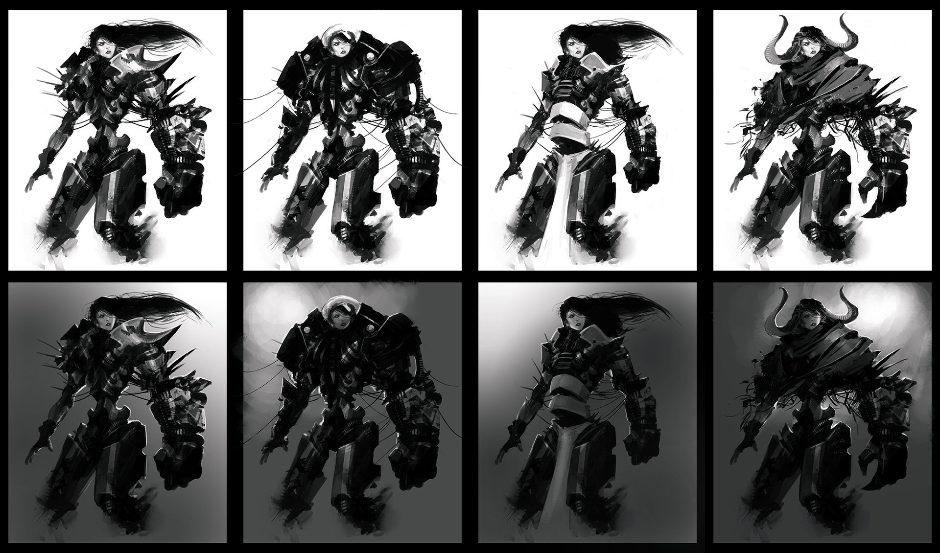 Alexandre chaudret sketches characters buste05