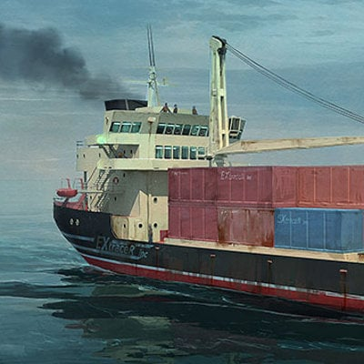 Dmitry popov hyp cargo ship