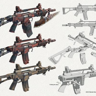 Dmitry popov assault rifle