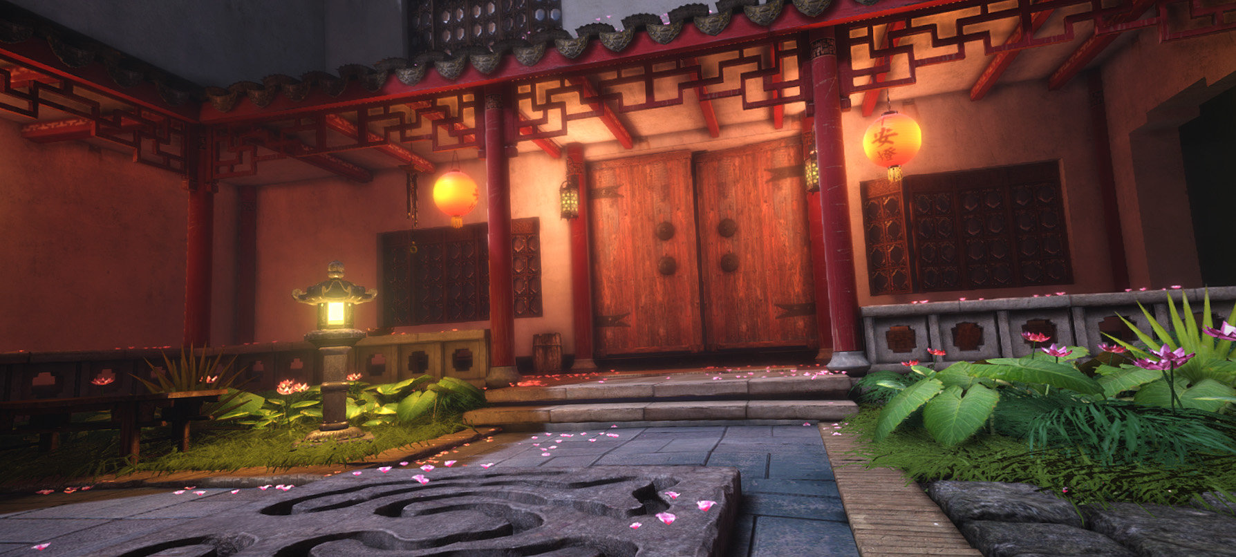 Jeff severson chinese courtyard night 07