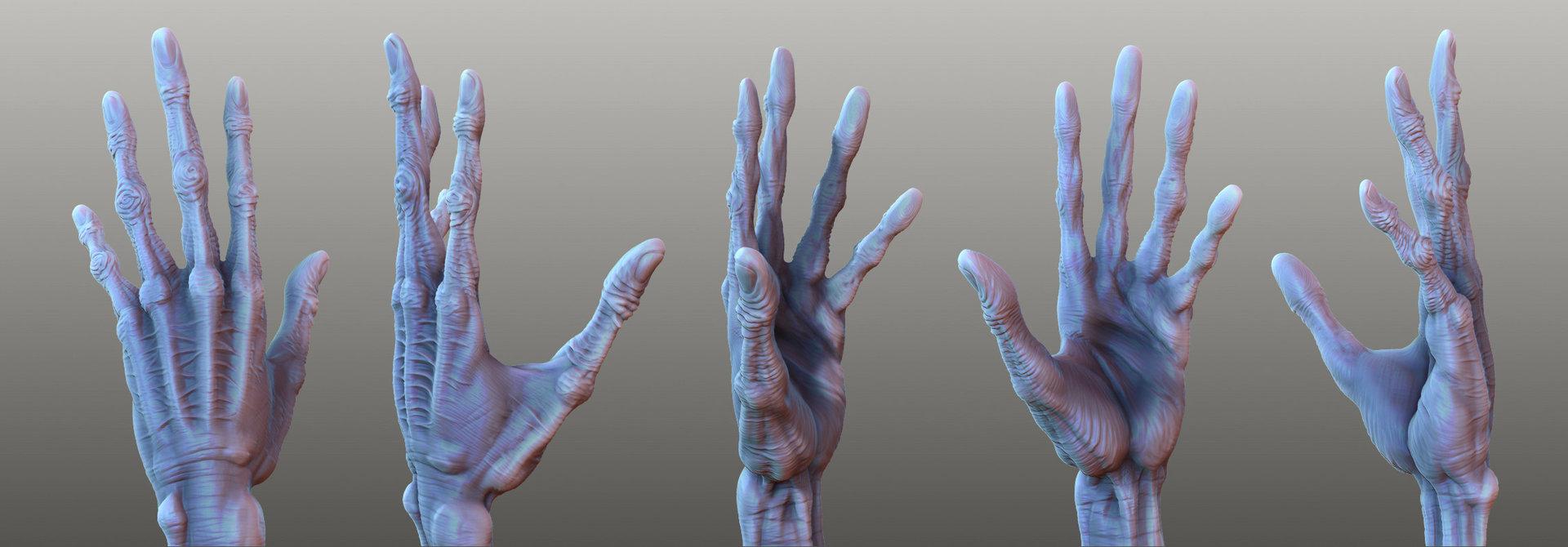 Oleg memukhin old spiderman hand 2 by monkibase d32053a