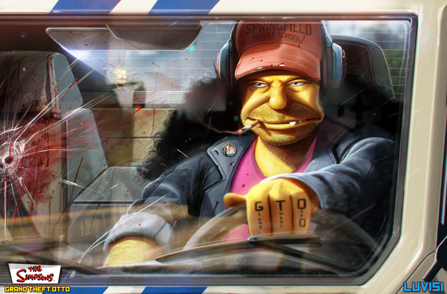 Dan luvisi grand theft otto part 1 by danluvisiart d665ndh