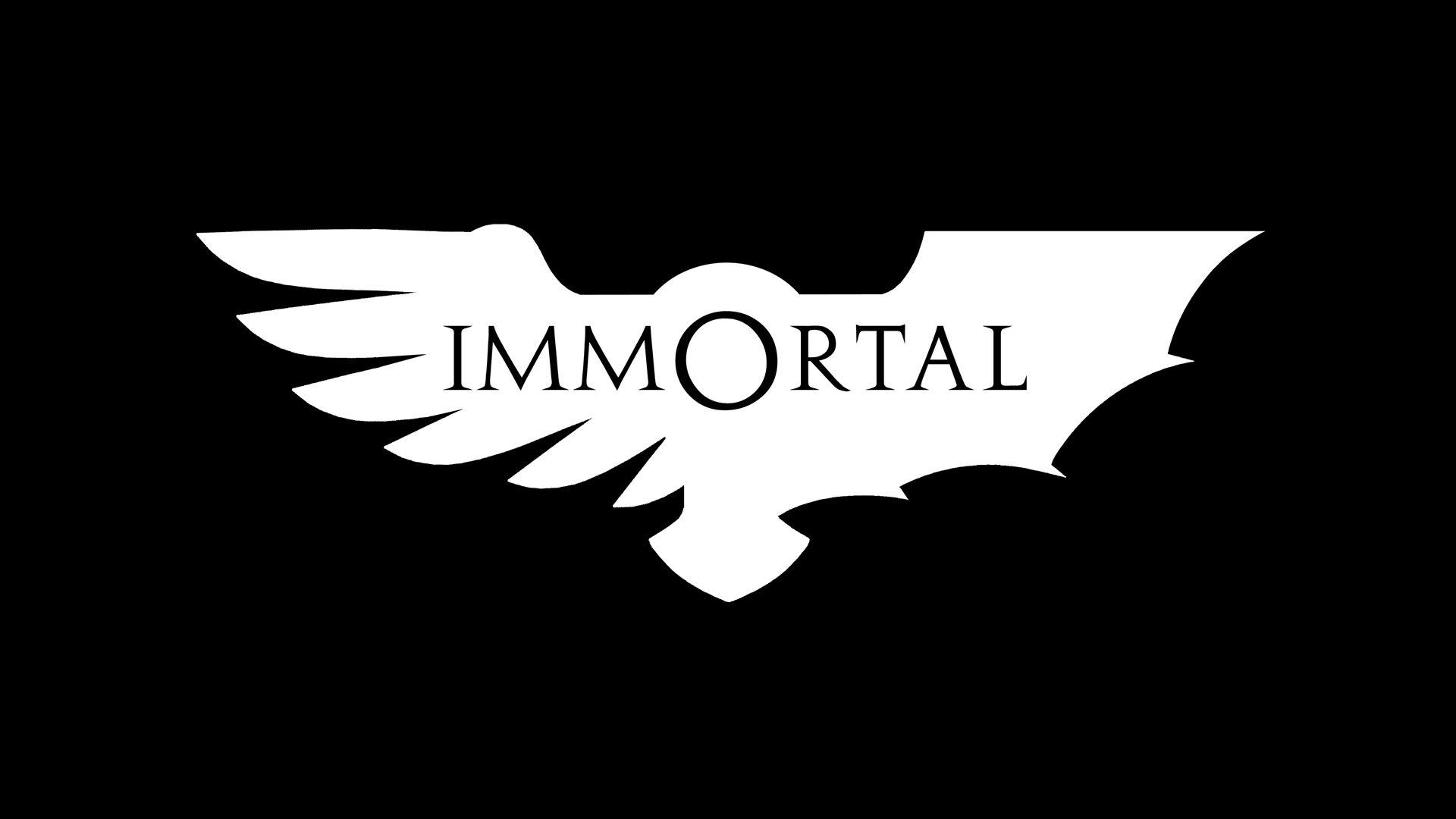 David sanhueza immortal logo black 2
