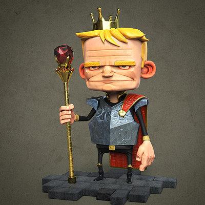 Calin iordache king 3d 3 small