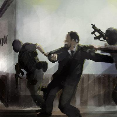 Alejandro romero marchesi dangergang robs a bank
