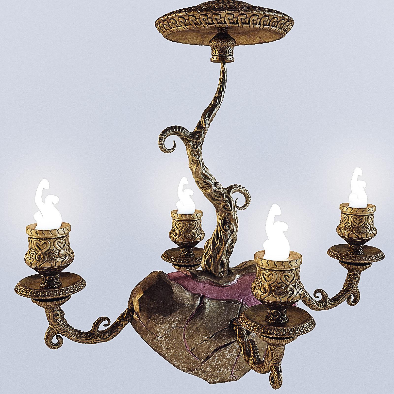 2014 - Fantastic chandelier