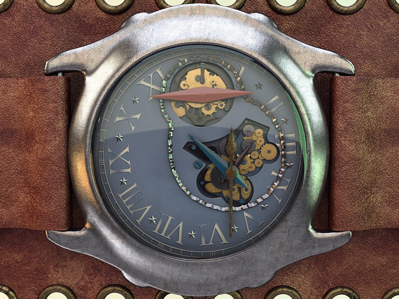 2014 - Clock design