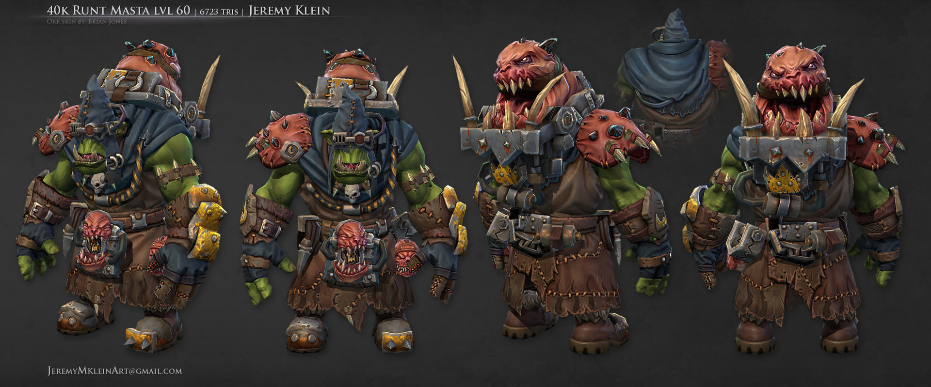 Ork Assets From Dark Millenium | Warhammer 40,000: Eternal ...