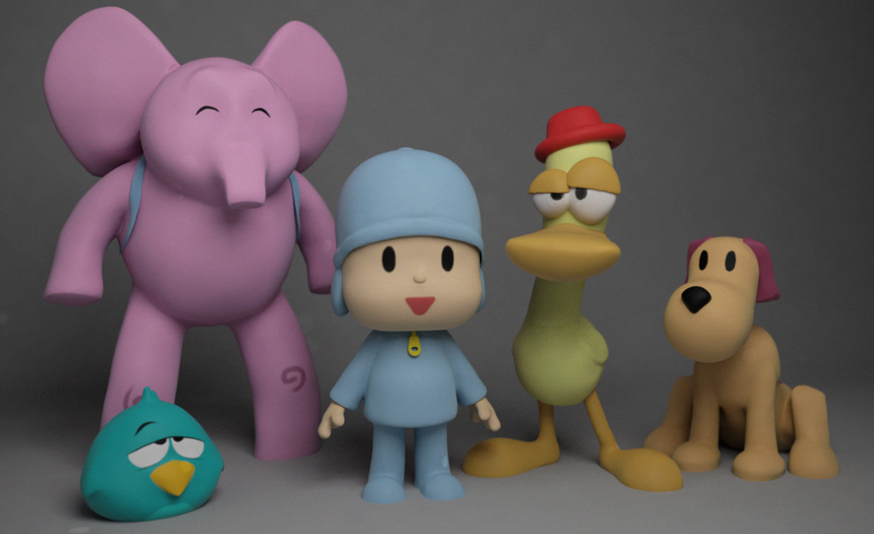 Pocoyo Toy designs