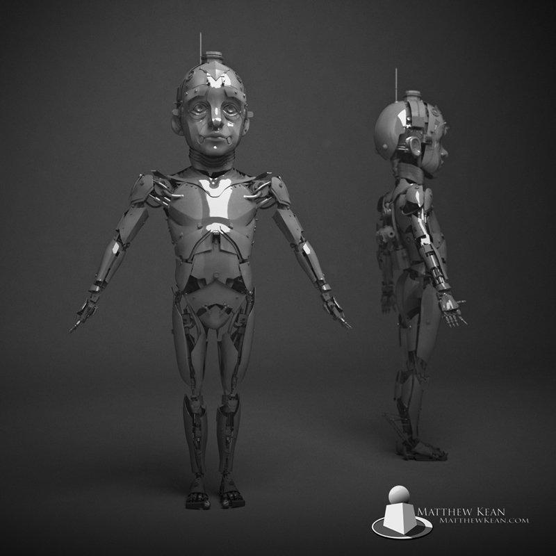 Robot boy