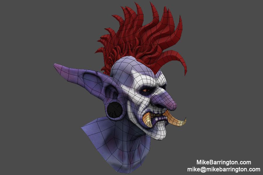 Michael barrington troll 2