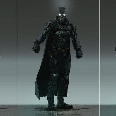 Brad wright batman redesign