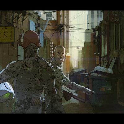 Brad wright alley scene 01low