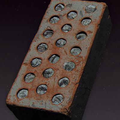 Stefan groenewoud stefangroenewoud highpoly bricks lookdev web