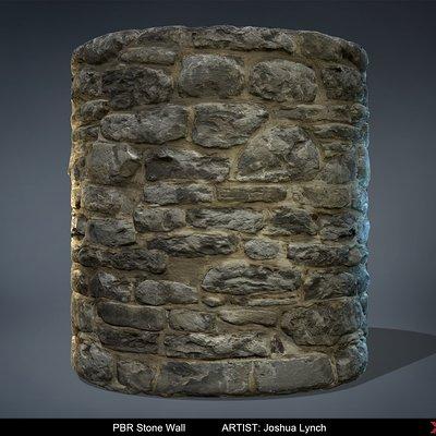 Joshua lynch pbr stone wall josh lynch cylinder