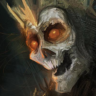 Murat gul skeleton lord by muratgul d7wiur9