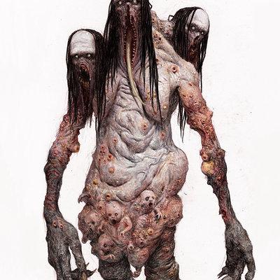 Adrian smith monster 3colour