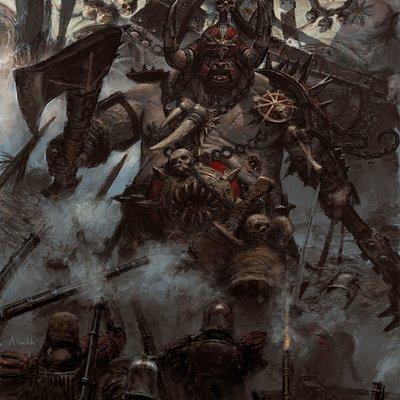 Adrian smith chaos ogres2colour