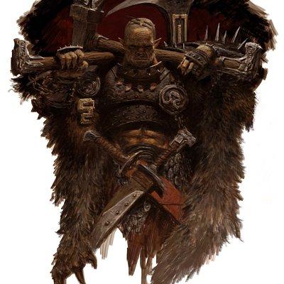 Adrian smith wildman orc hero