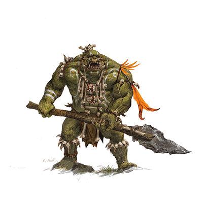 Adrian smith fw savage orc warrior