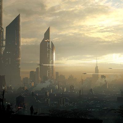 Raphael lacoste sci fi city web2