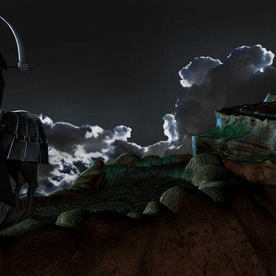 Mark van haitsma reaper on the path background 2