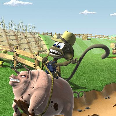 Mark van haitsma monkey farm large