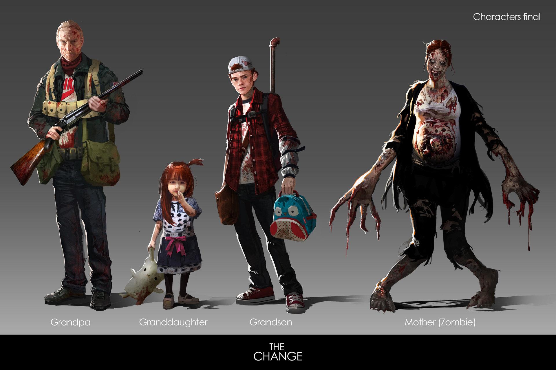 Character Design Zombie : Apocalypse character design images