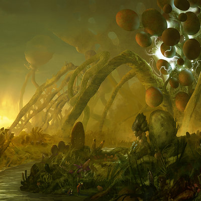 Chenthooran nambiarooran alien landscape