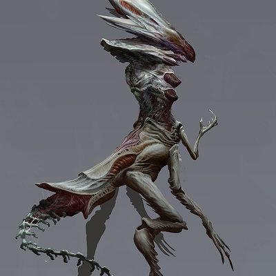 Chenthooran nambiarooran xenomorph queen small