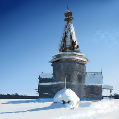 Piotr melentowicz hut winter