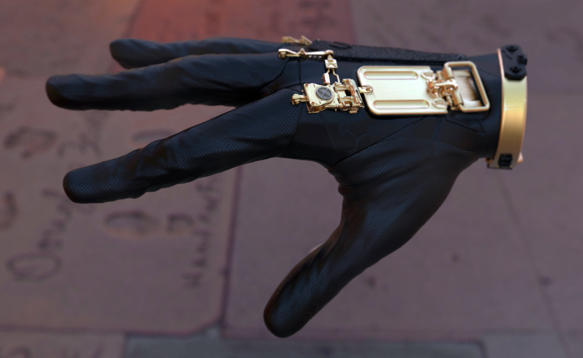 Mark chang glove