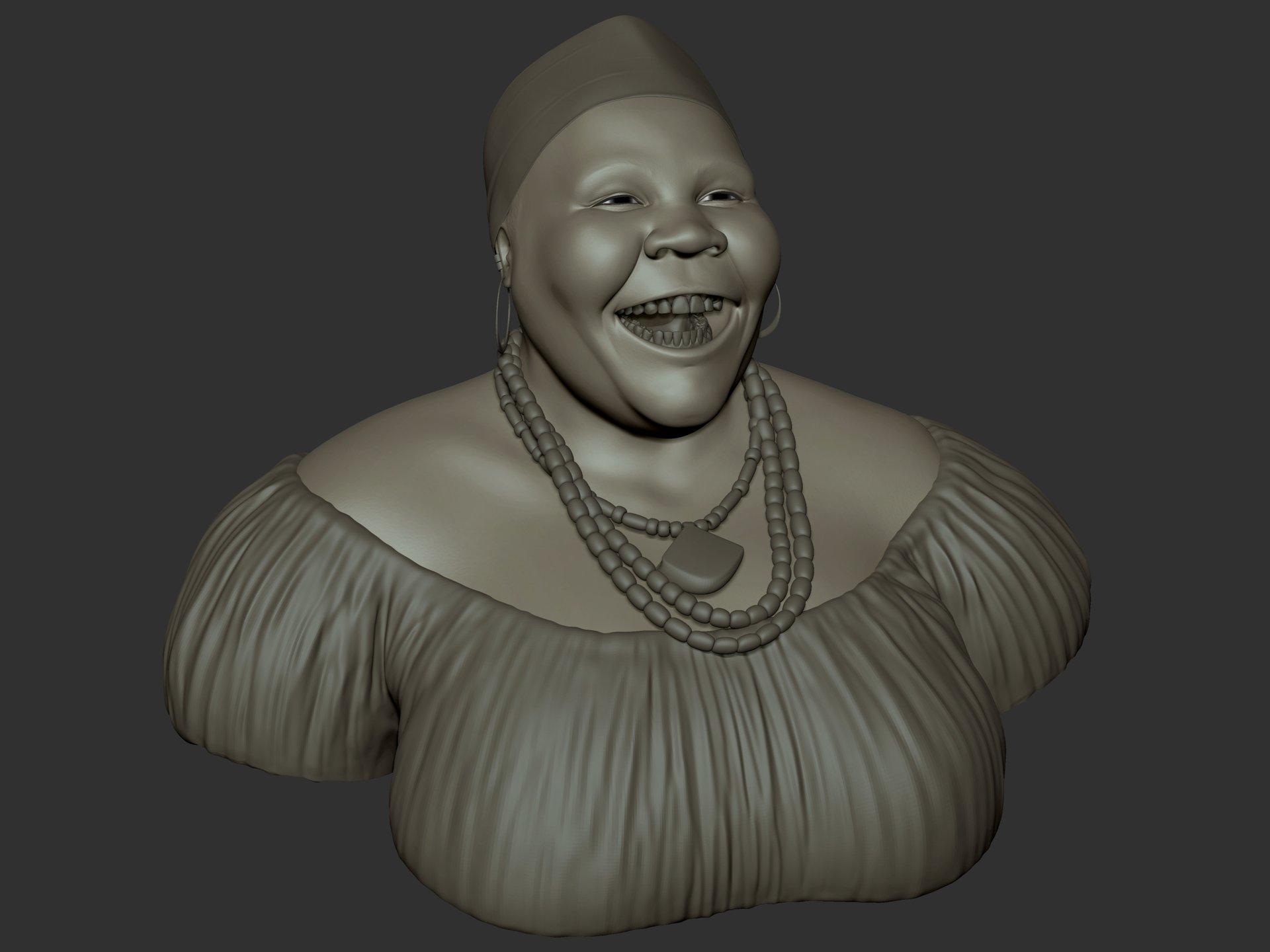 Ganesh poojari african lady 001