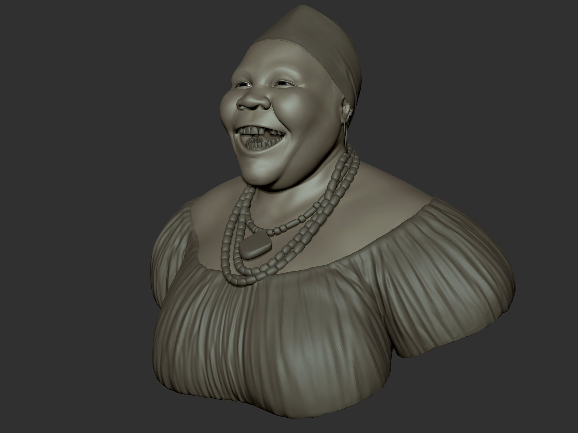 Ganesh poojari african lady 002