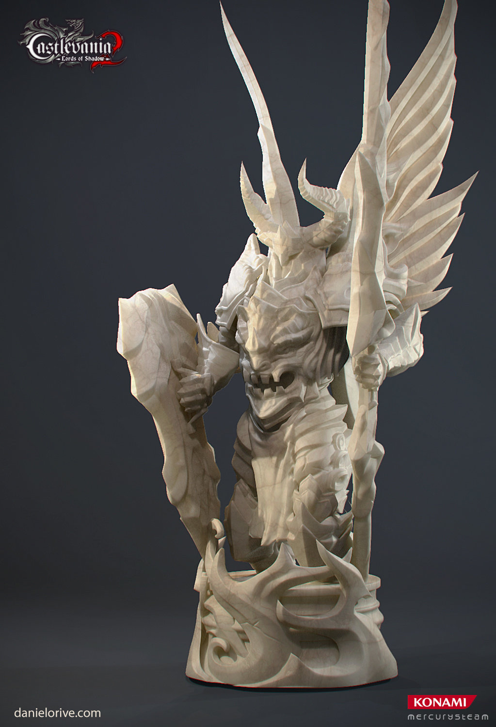 Castlevania Lord of Shadows 2 - Statue