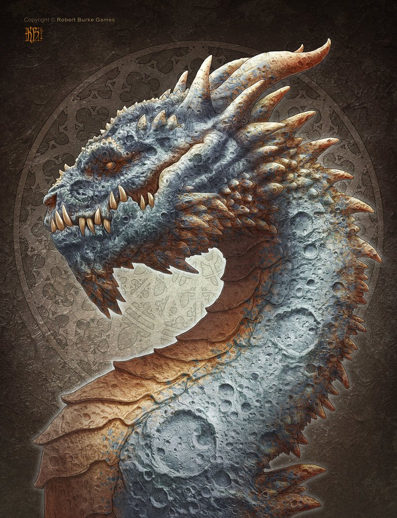 Artstation moon dragon kerem beyit - The moon dragon the eco tiny house ...