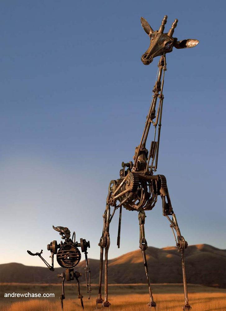 Timmy and giraffe walking and talking 2 5 flat