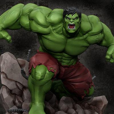 Hulk composed