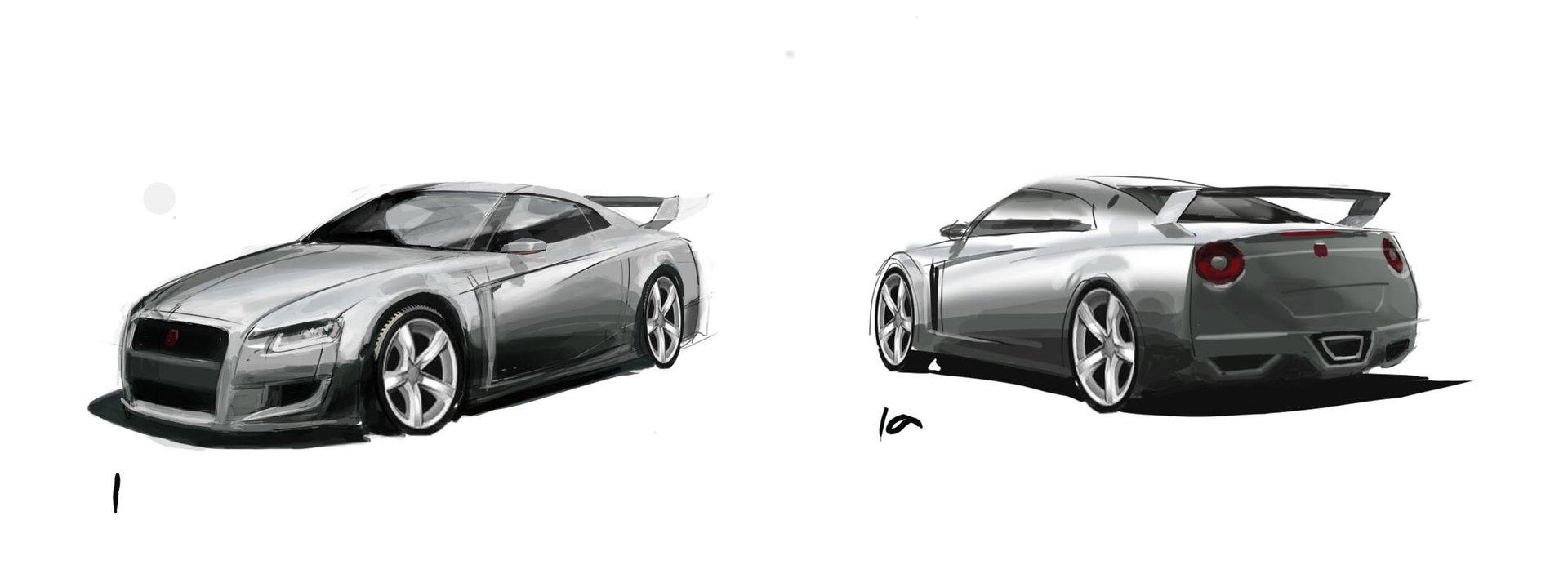 Skyline sketches 2