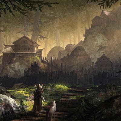 Forestvillage velinystrom