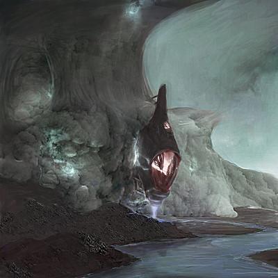 Jeremy roland floating alien landscape