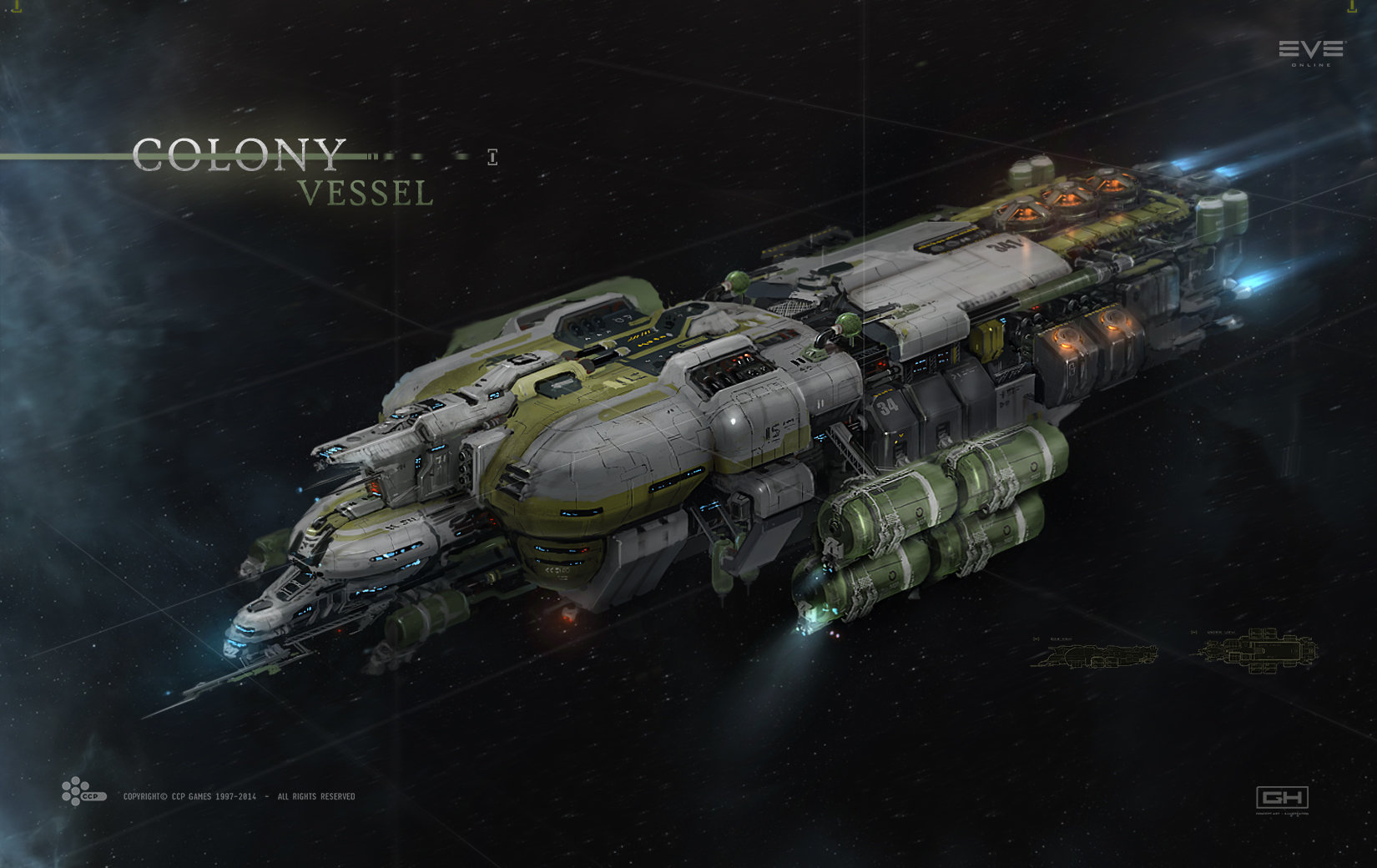 eve online mining drones with Vehicles Space on Rakshasa AISN Bomber 67288719 besides The Hangar Ship Sizes as well Kotw Reallllly Big Noctis as well Widow also The Risk Of Early Adoption.