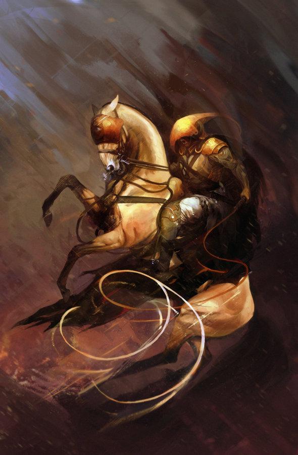 Marta dettlaff war rider